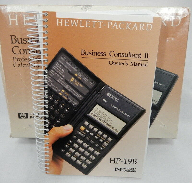 hp business consultant ii manual