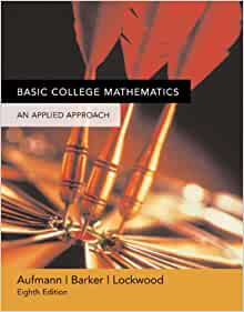 mathematics an applied approach student solutions manual 8th edition pdf