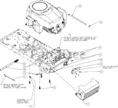 parts manual for a 13wv78ks011 lawn mower