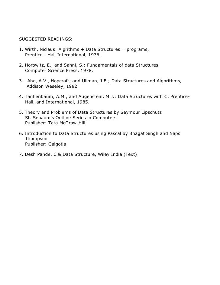 data structure by seymour lipschutz solution manual