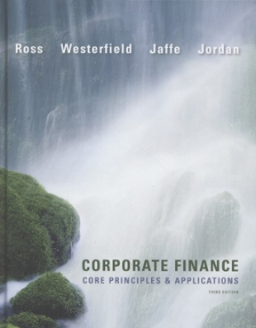 corporate finance core principles and applications 4th edition solution manual