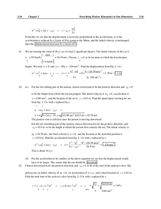 physics principles with applications solutions manual