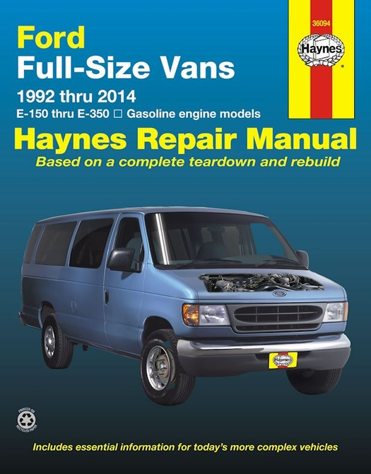 parts manual for a 1999 ford e150 van
