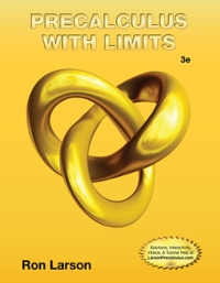 precalculus with limits fourth edition complete solutions manual