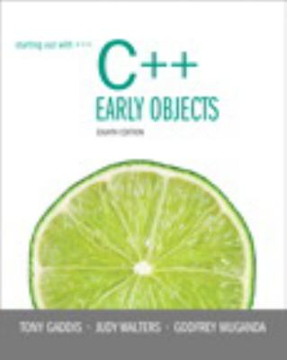 starting out with c++ early objects solution manual